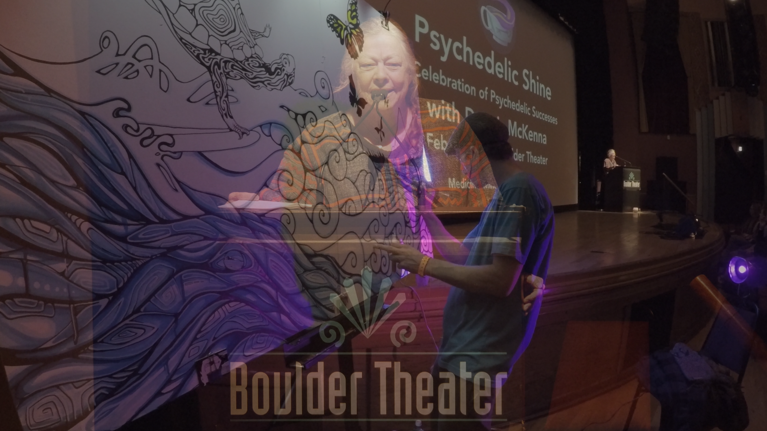 Dr. Carla Clements 2017.02.12 Boulder Theater Boulder, CO (Psychedelic Shine)