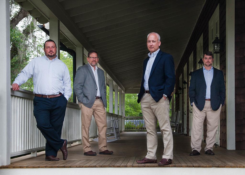 THE TEAM AT ELKIN ENGINEERING: LEE FISCHER, LARRY MARKS, LARRY ELKIN, JON PENNINGTON