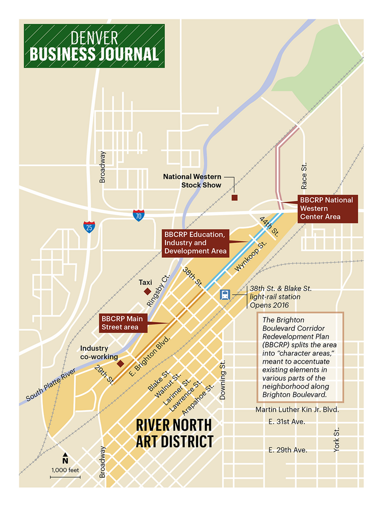 """Blue Moon Brewing to anchor new RiNo entertainment district  """"Miller Coors' Blue Moon Brewing Co. will anchor a new, five-acre entertainment district in Denver's River North neighborhood, the project's developer said Monday.""""   2/13/2015 Denver Business Journal"""