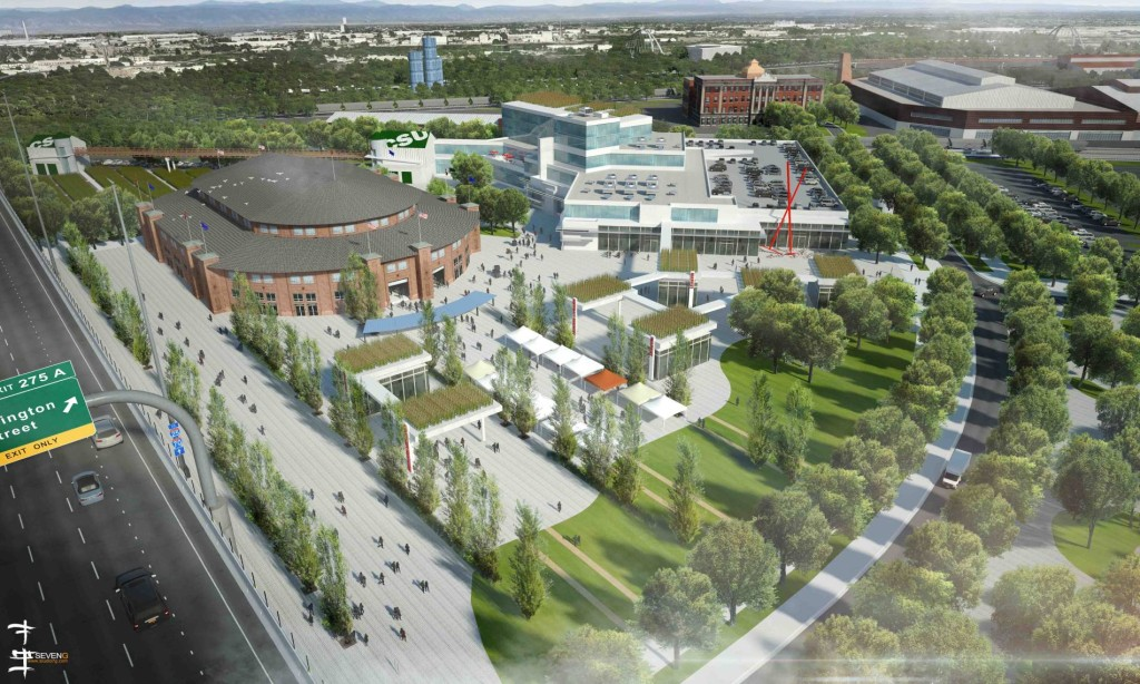 Colorado State University is a key partner in the the reimagining of the National Western Center, a combined 250-acre site near Interstates 70 and 25, that is a planned year-round educational and entertainment hub for the city.   -Colorado State University