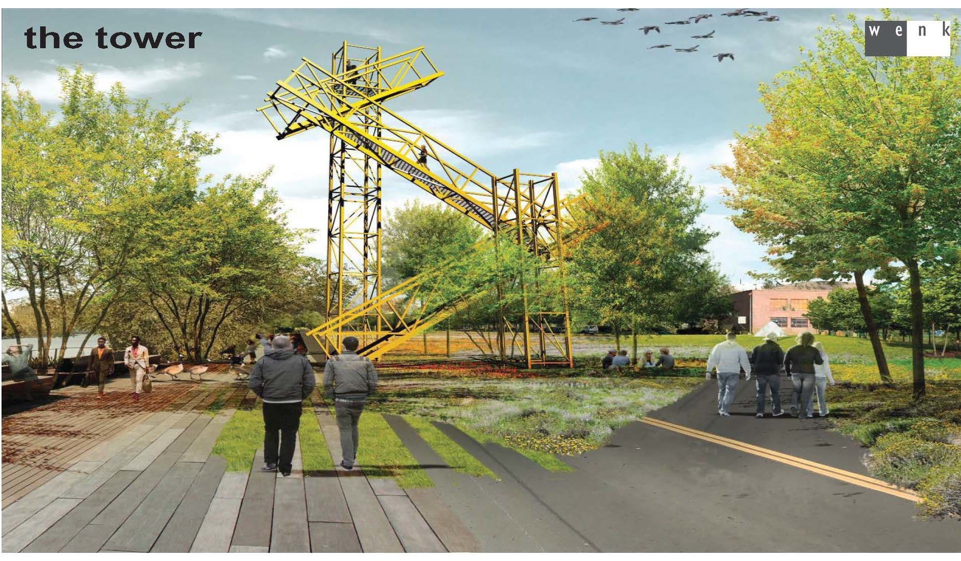 """RiNo Promenade plans & funding in the works; fundraiser Friday  """"Developer Bernard Hurley envisions a """"festival street"""" including breweries, cafes, restaurants and music venues. The project would create around 12 acres of public space for the community"""".   4/28/17 Denver 7"""