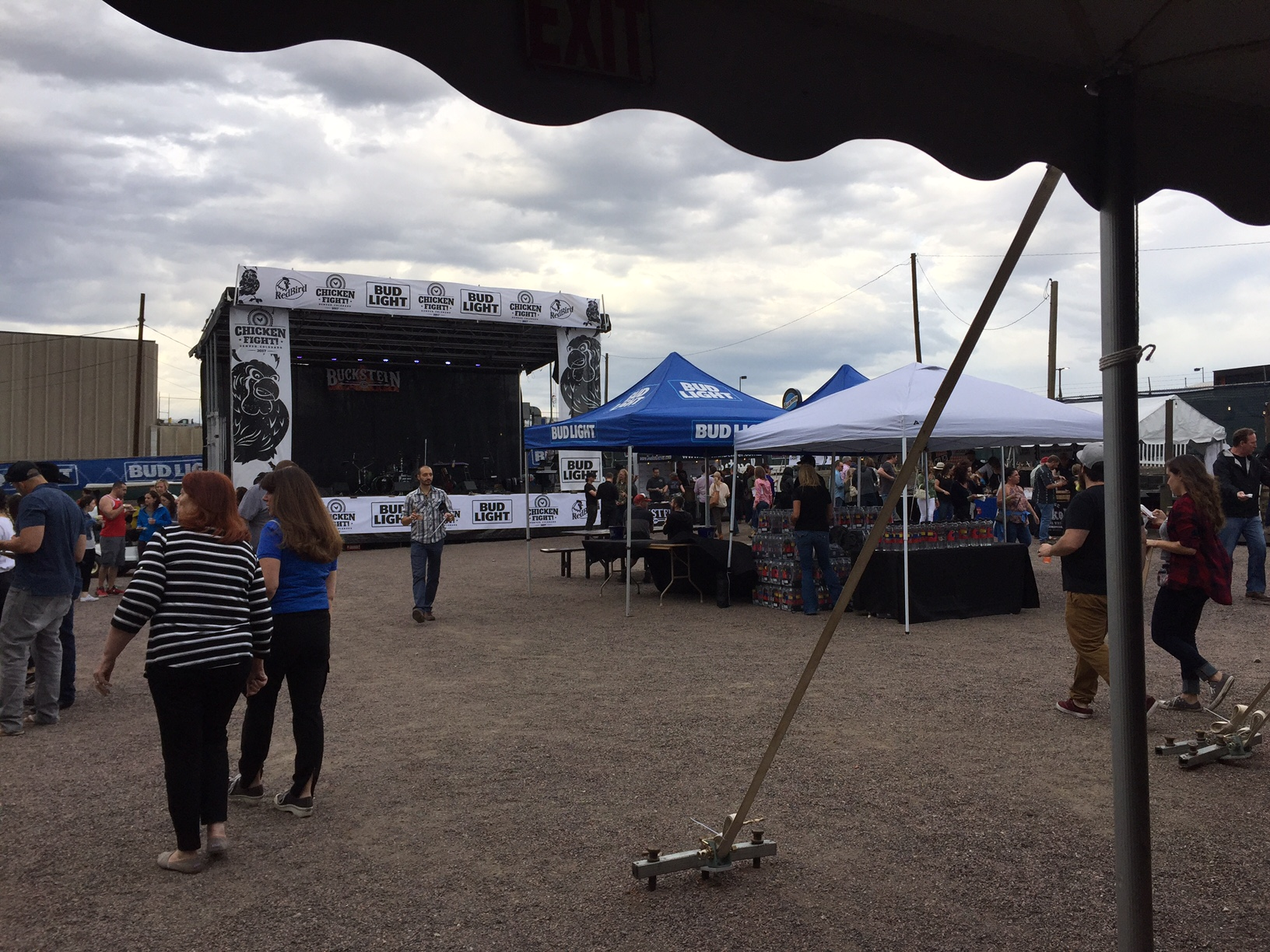 Stage and beer tents.JPG