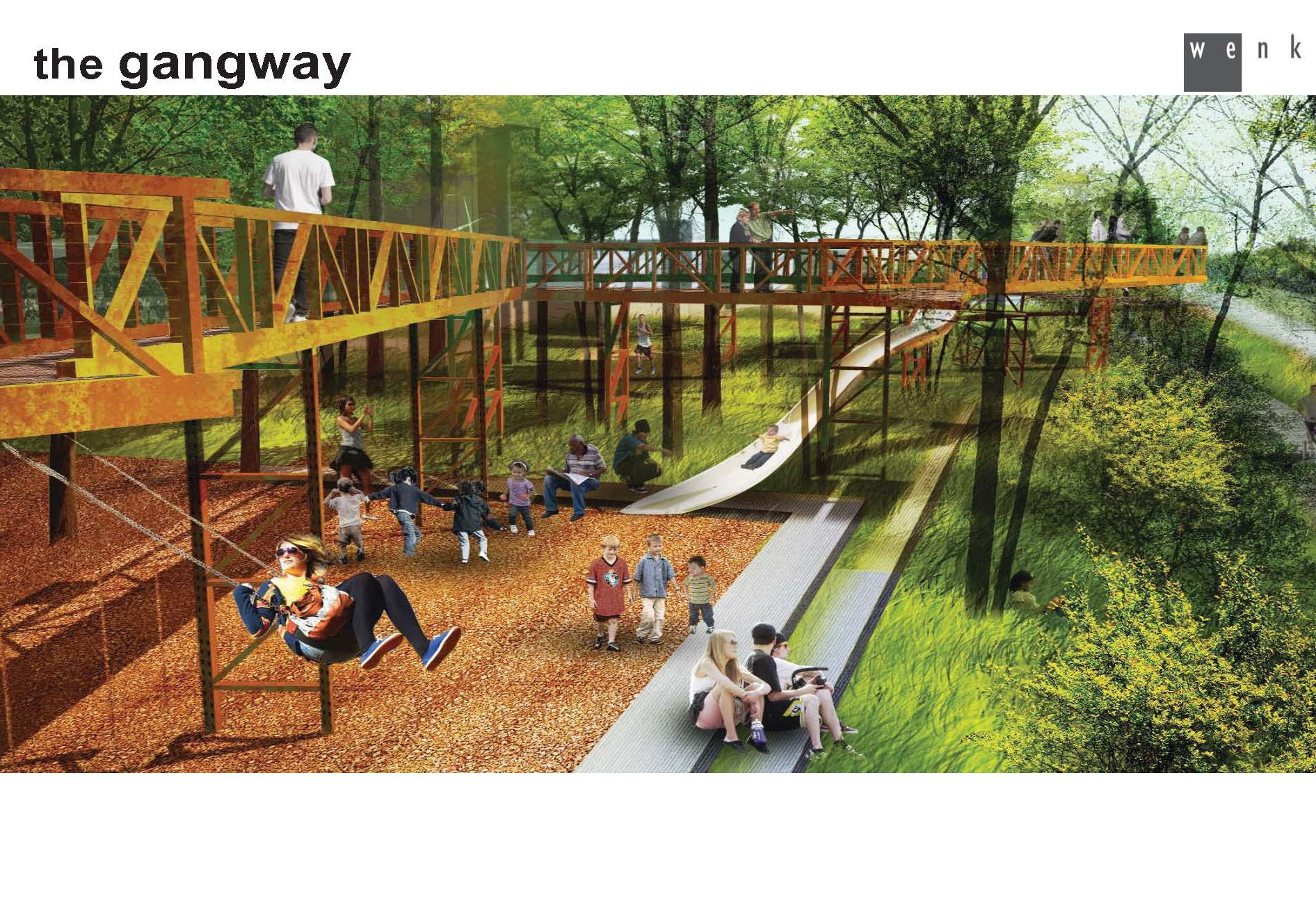 """Mile-long RiNo river promenade suddenly more likely again with $5 million from the bonds plan  """"The plan to create a mile-long stretch of parkland along the South Platte River in RiNo is looking a lot more feasible this week. Mayor Michael Hancock has included the """"River North Promenade"""" in the final list of projects that will be funded  if voters approve a $937 million spending package. """"   7/13/17 Denverite"""