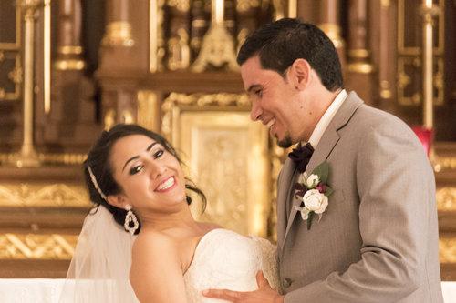 Wedding Photography Couple Married