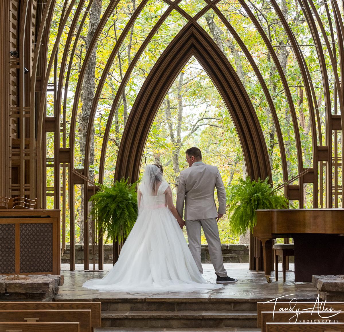 Wedding Ceremony Church View