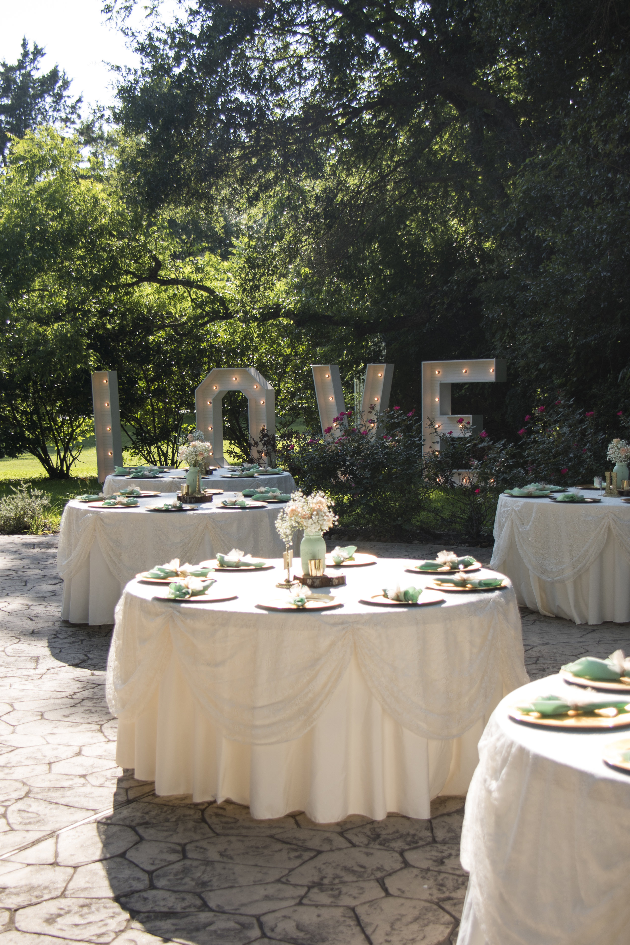 Wedding Reception Love Sign