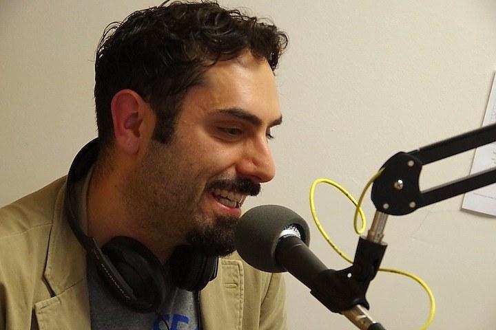 Travis Carbonella (Lucy Gellman photo)