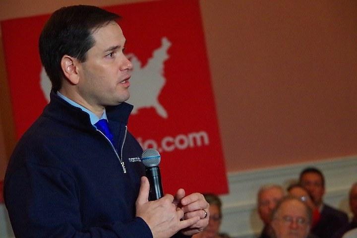 Marco Rubio (Lucy Gellman photo)