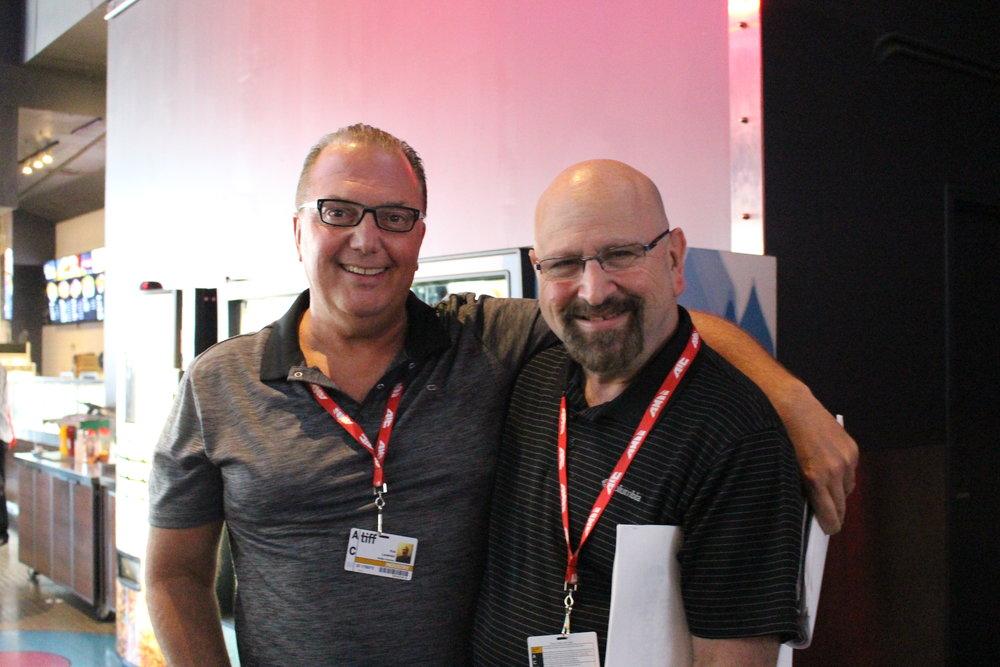 Rob Lawinsky and Arnold Gorlick (Thomas Breen photo)