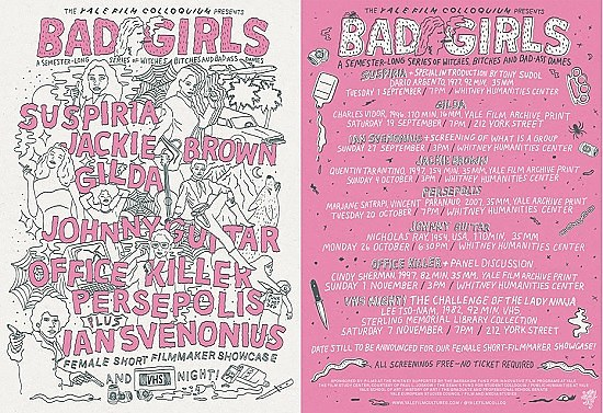BAD GIRLS screening series