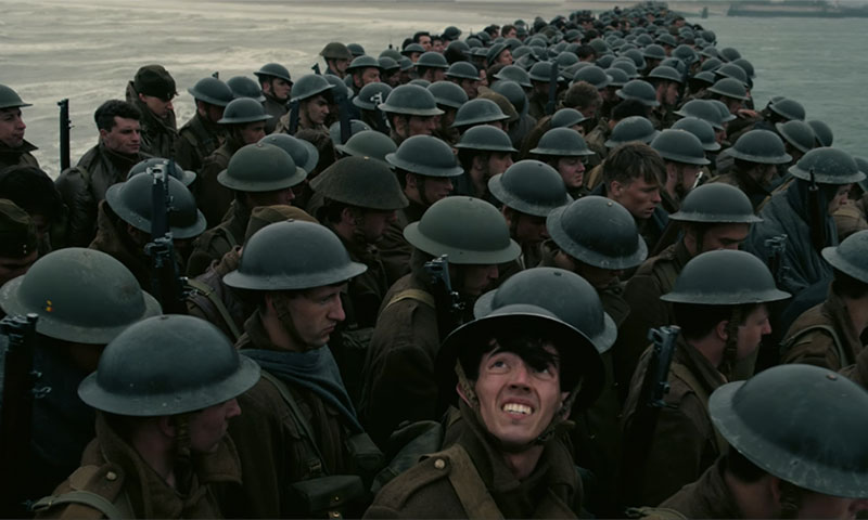 Christopher Nolan's  Dunkirk  (2017)