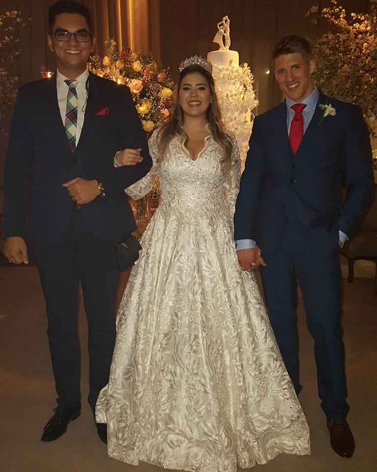 Iain's Brother Stuart marries Sara in Brazil