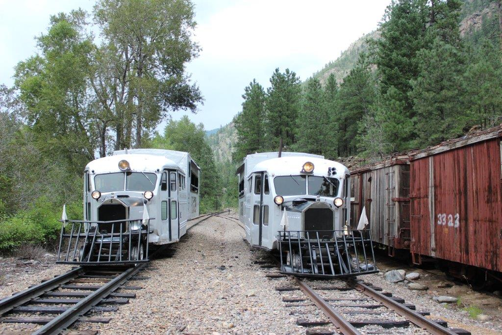 """Photo by David Fluit #4 and #5 on the D&S at Tacoma, August 28, 2015 during Railfest. This was the first time the two """"Geese"""" operated together since 1952."""