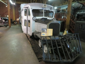 On display in the Durango & Silverton Railroad's Roundhouse Museum – August 2014   (Barb Beringer photo)