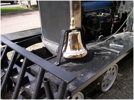Freshly polished bell…