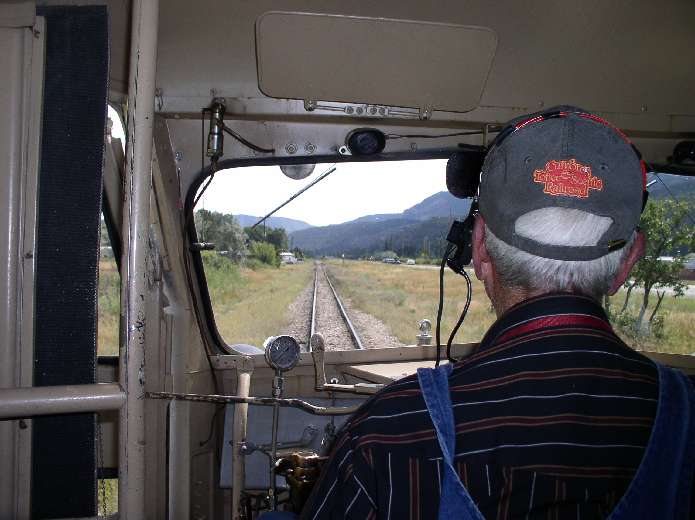Southbound in Animas Valley - Railfest 2009