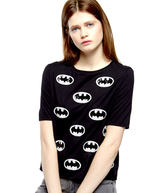 "The Batman Sequins t-shirt that, for some God forsaken reason, is listed as ""Catman"" on their site (it happens twice, so I don't think it's a typo or unfortunate auto-correct situation)."