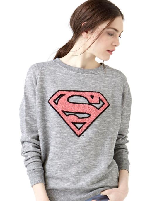 "The Superman/""LISUPER"" jumper from Eleven Paris."