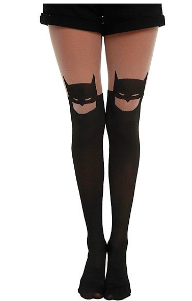 Batman Silhouette Tights - $11.60 at Hot Topic