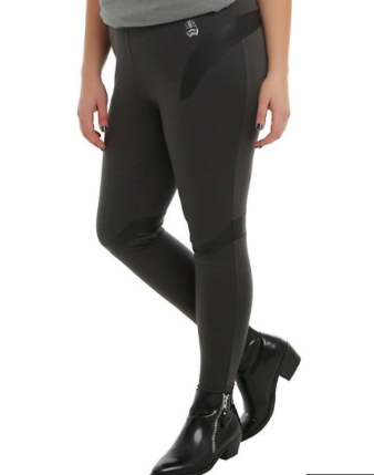 Captain Phasma Star Wars/Her Universe/Hot Topic Leggings (Front Side).