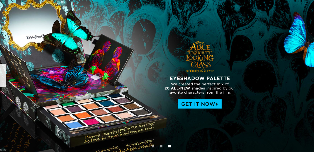 Urban Decay's Limited Edition Alice Through The Looking Glass palette.