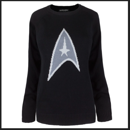 Star Trek Logo Sweater - $48.00