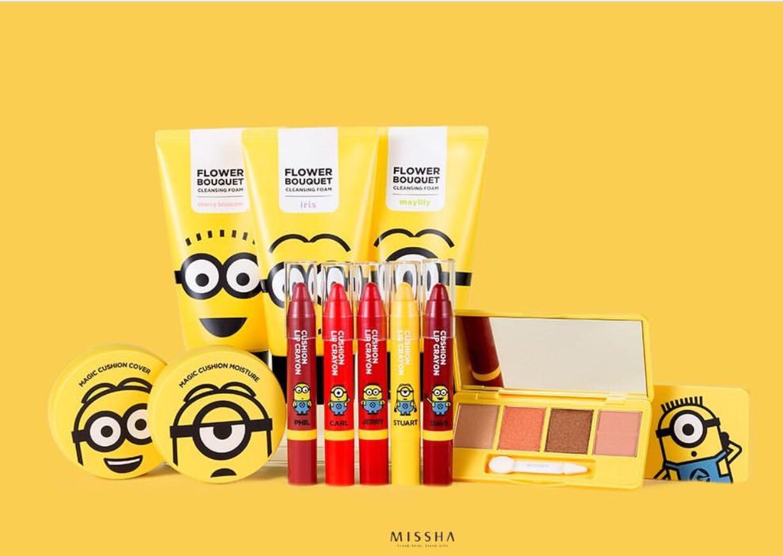 Missha X Minions Collection