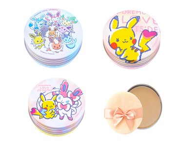 Pokemon-themed Face Powders