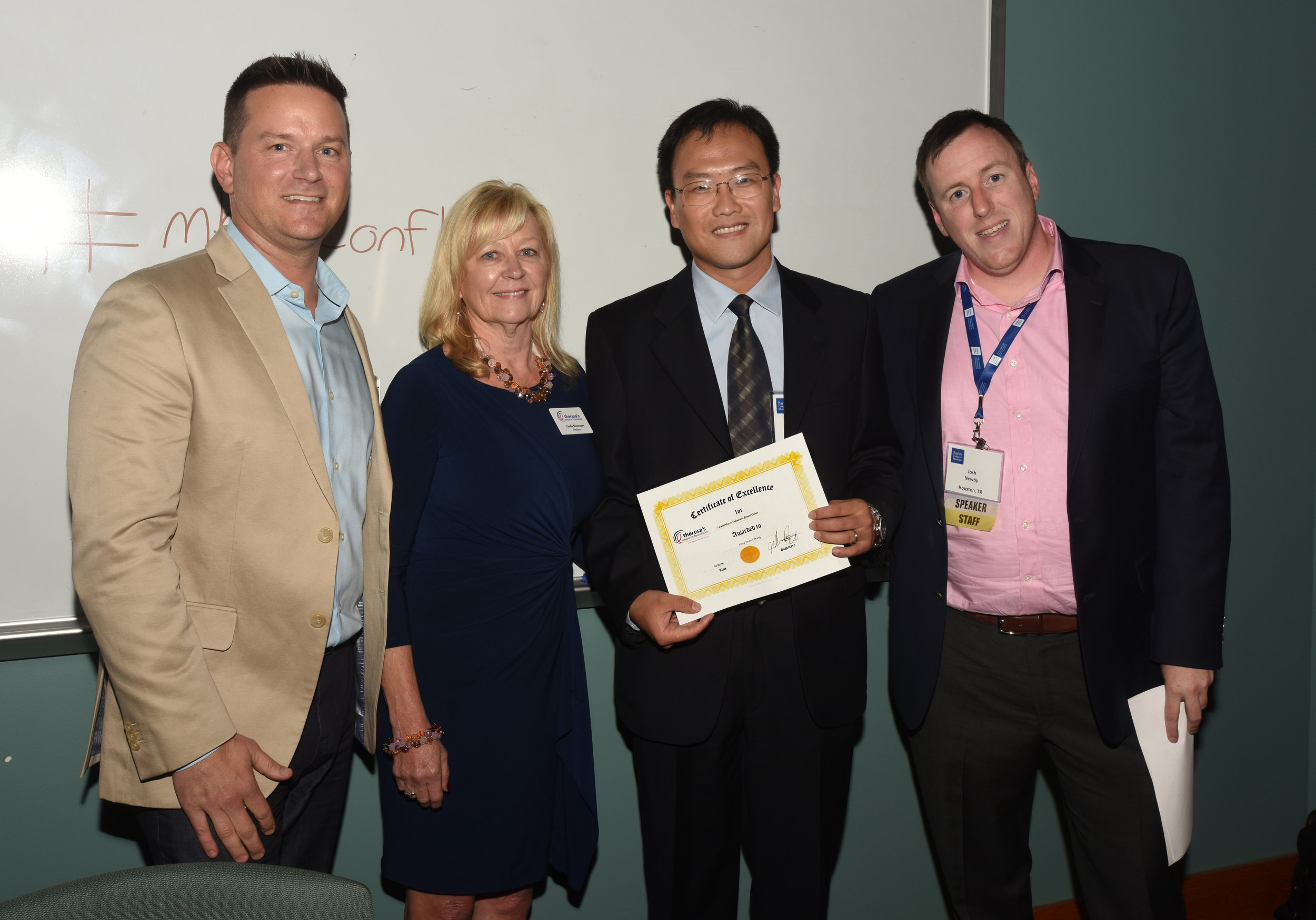 The 2016 award recipient was Dr. Xiang Zhang, PHD