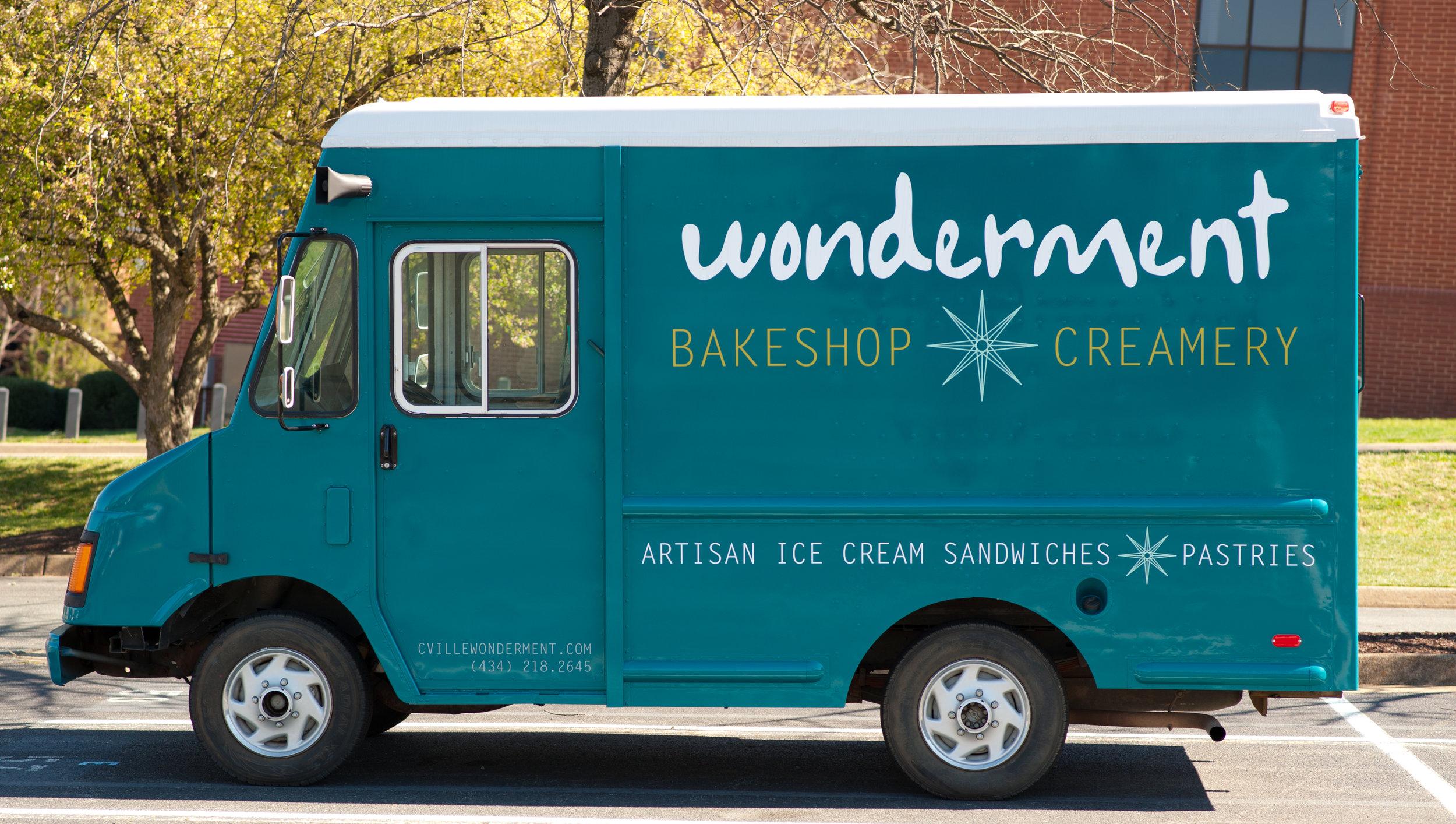 Miss Sandies - Our 19' Ice Cream Truck (pre-decals)
