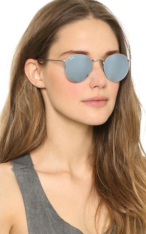 Ray-Ban Icons Mirrored Sunglasses - $175