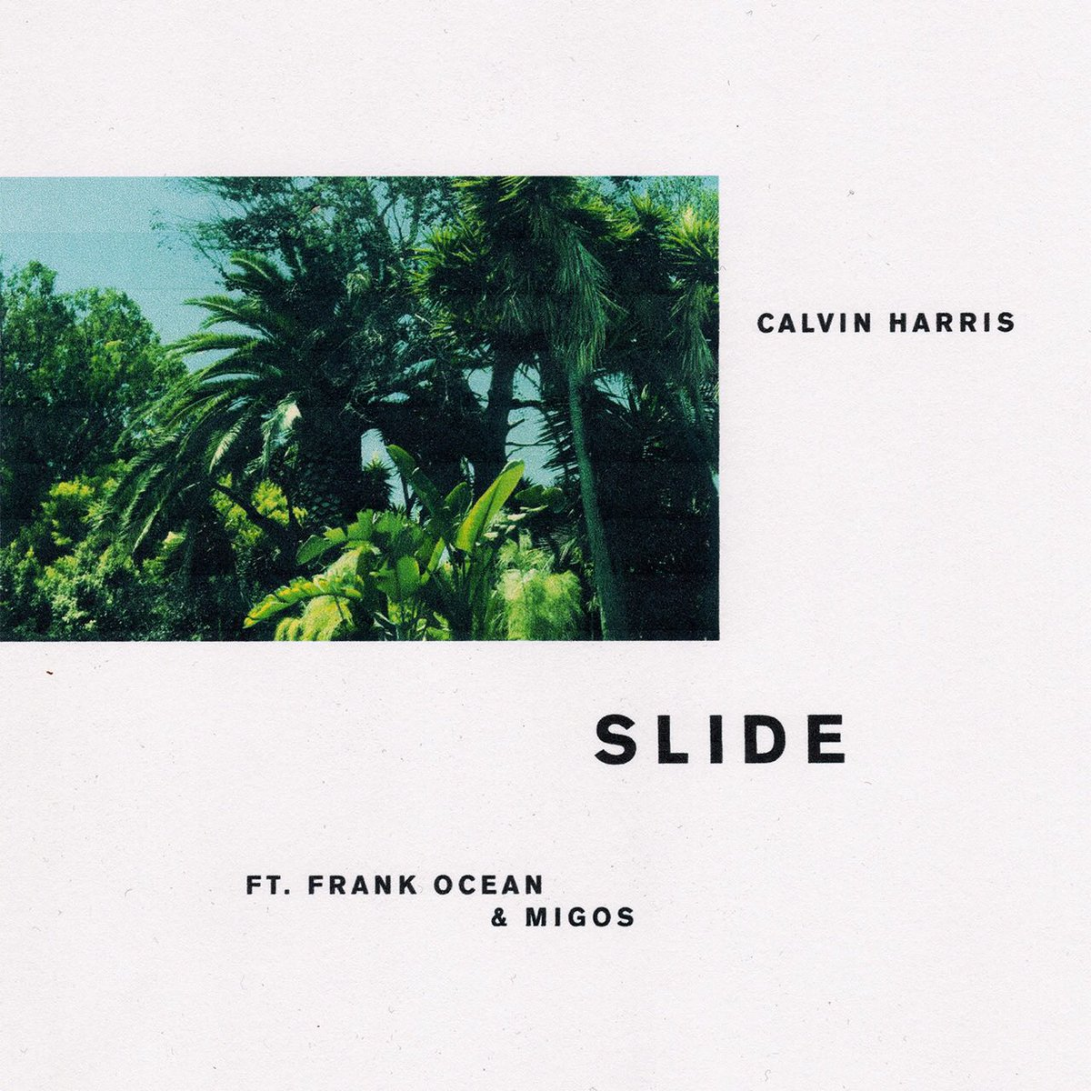 calvin harris : slide
