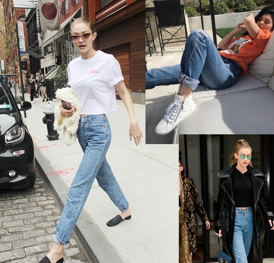 mom jeans - So comfy to throw on with a graphic tee or crop top for a casual day.