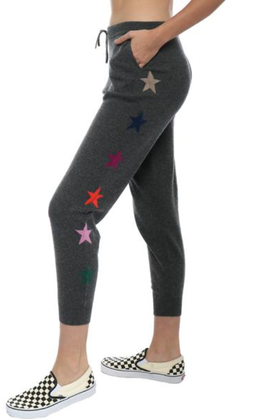 cashmere joggers - wyse lucie star lounger $194