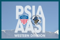 Proud sponsor of PSIA/AASI West's  passion for snowsports instruction