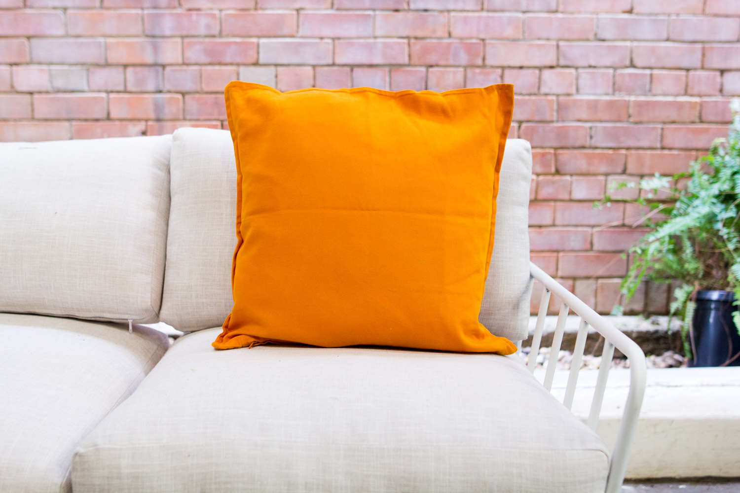 AVIDEAS-INVENTORY-SOFTFURNISHINGS-Cotton Burnt Orange Cushion.jpg