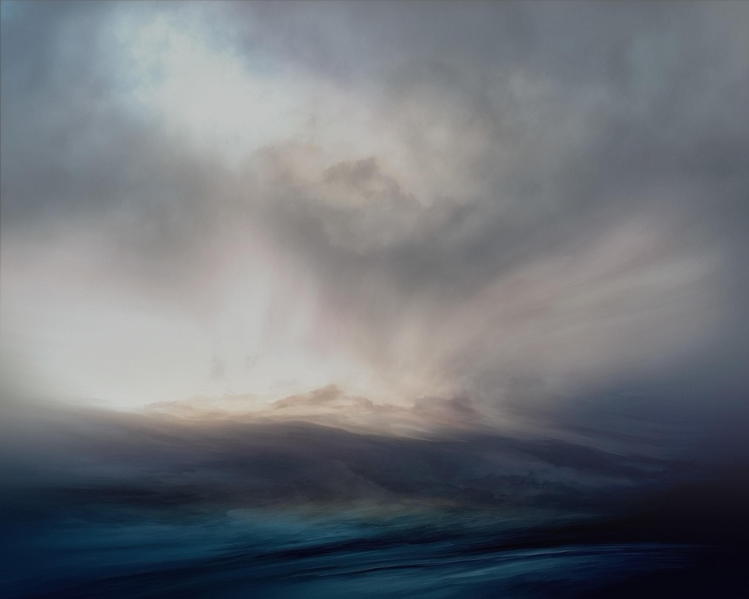 Navy Blue Sea