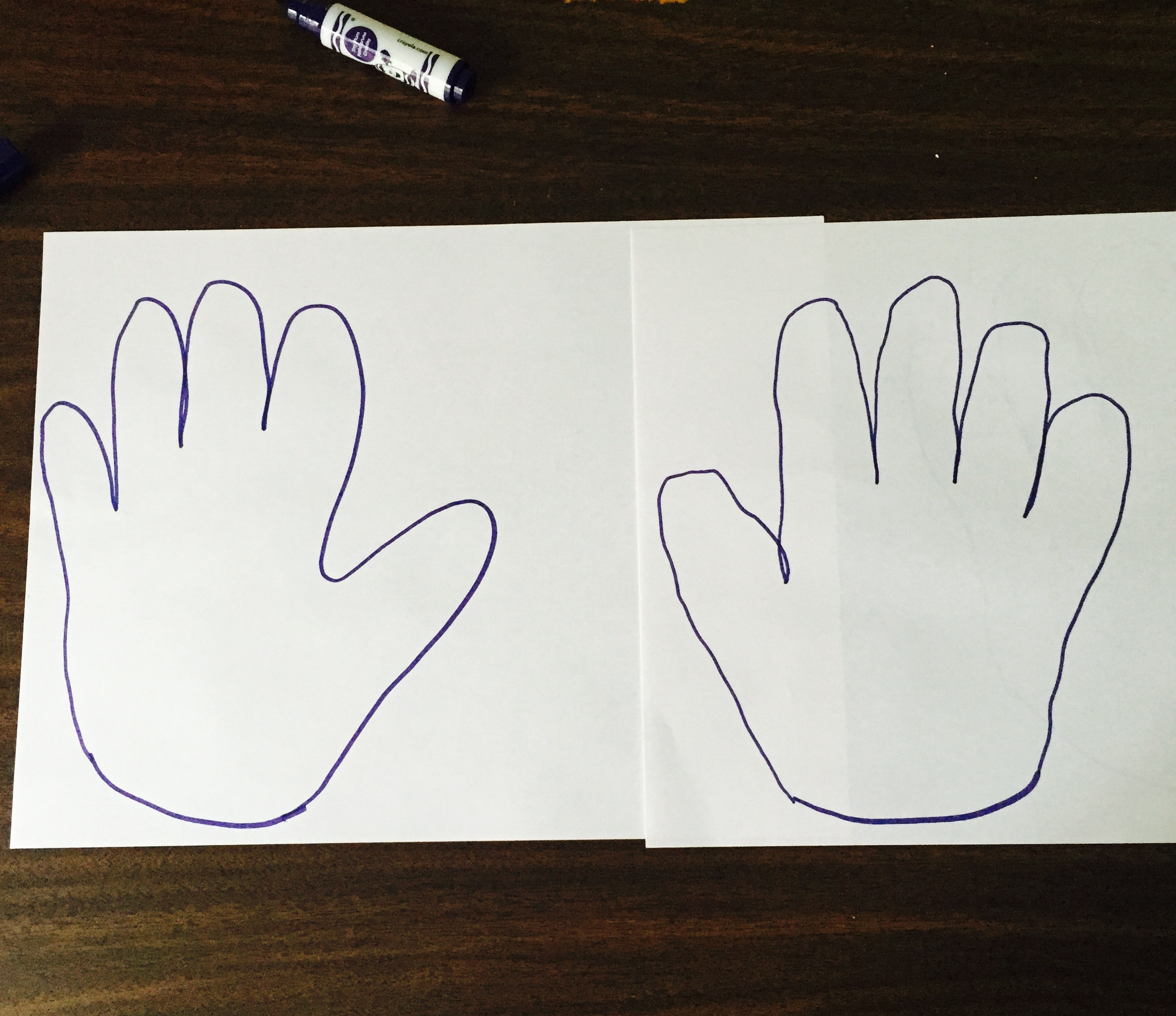 OT Activity of the Day - Right/Left Identification