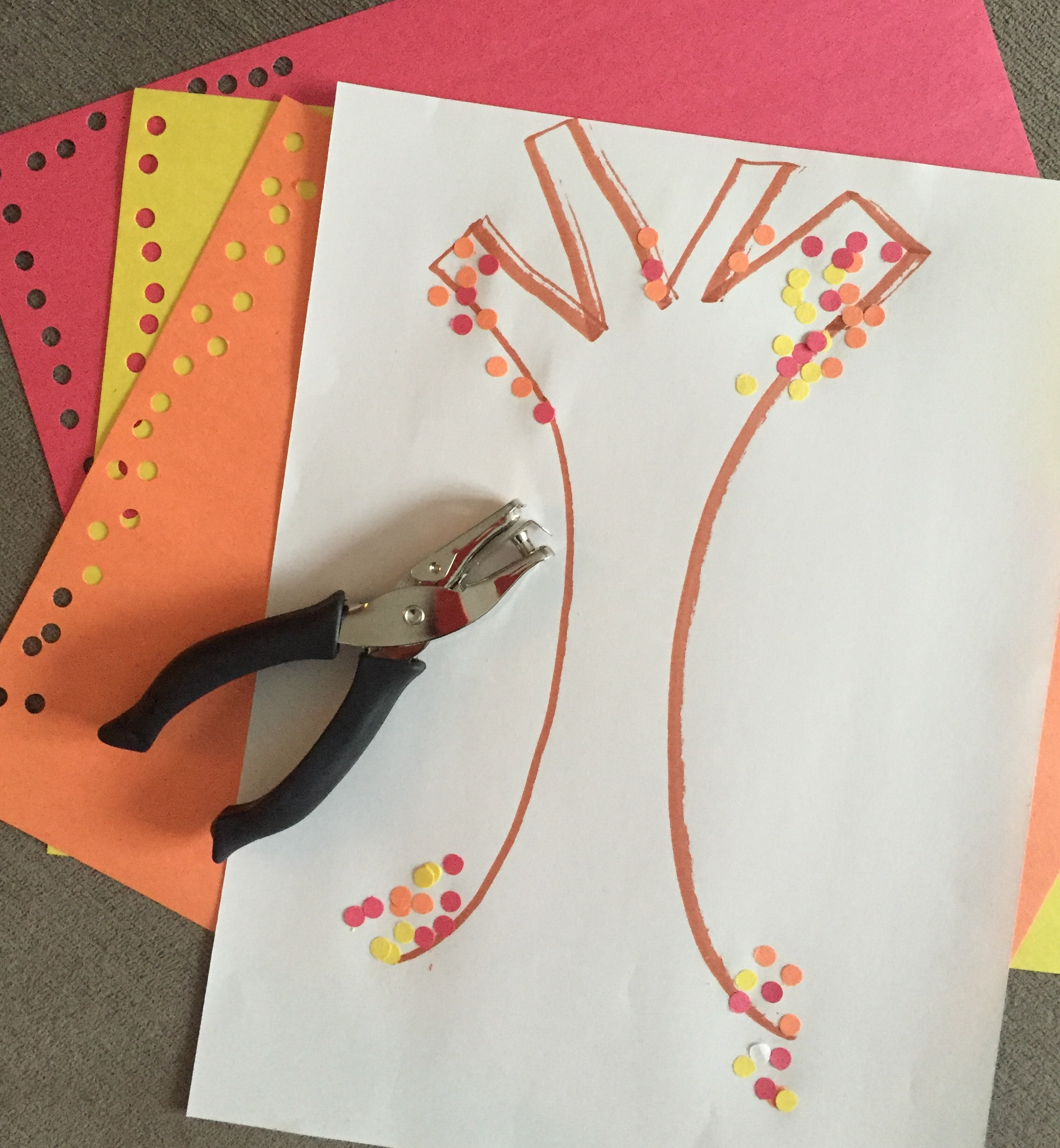 OT Activity of the Day- Hole Punch Activity