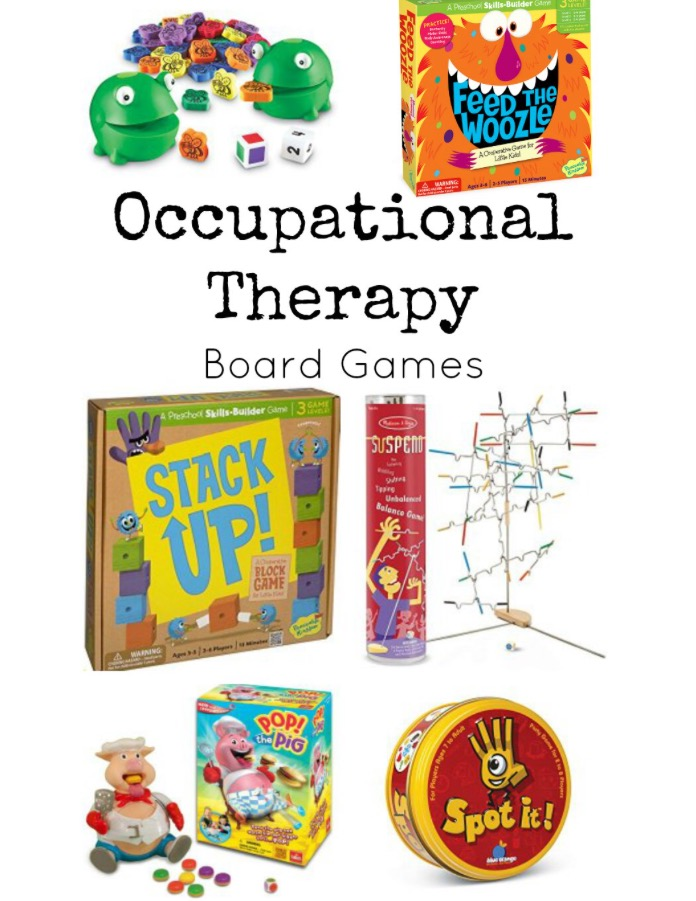 OT Activity of the Day- Occupational Therapy Games