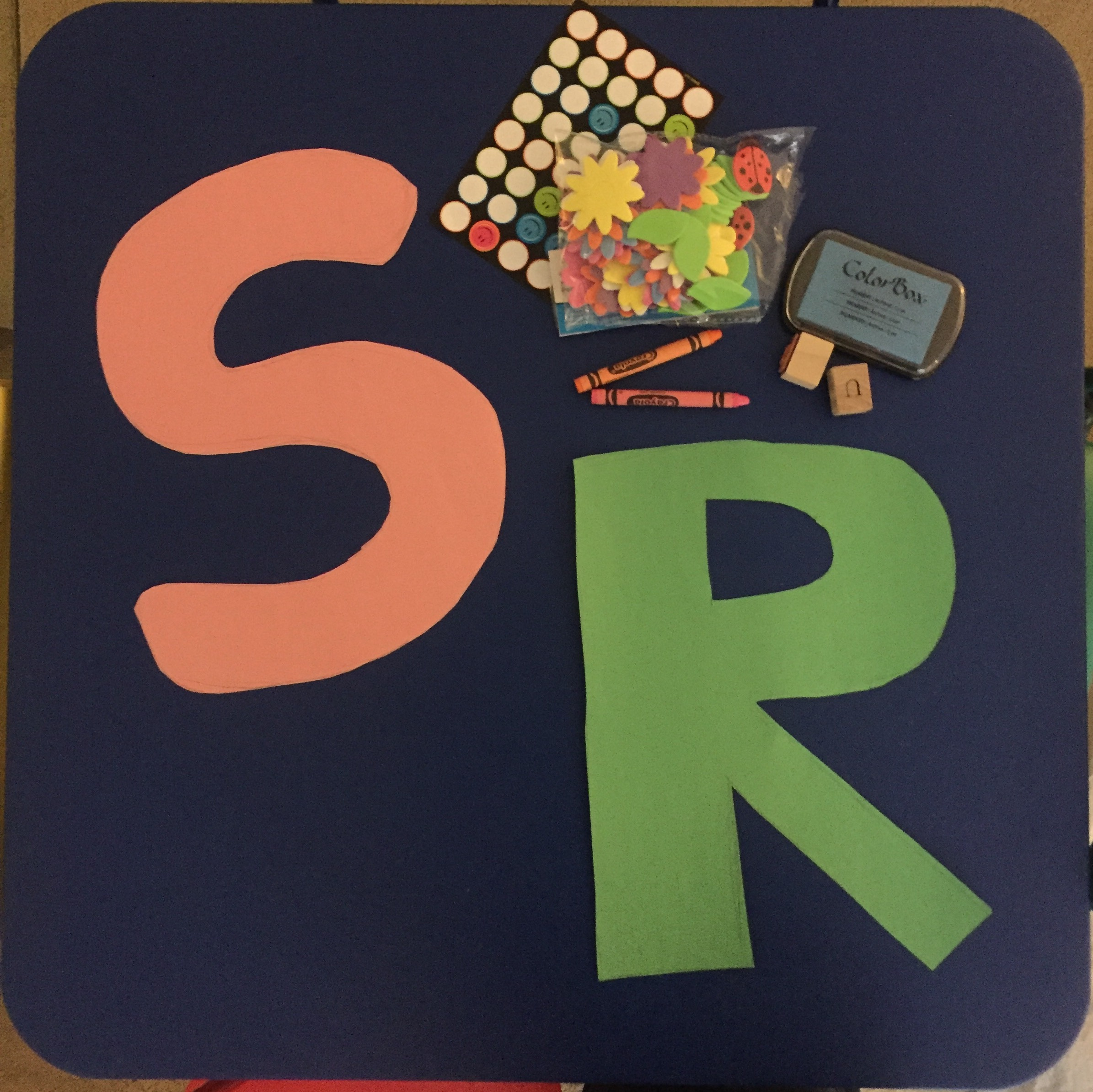 OT Activity of the Day- Letter Recognition