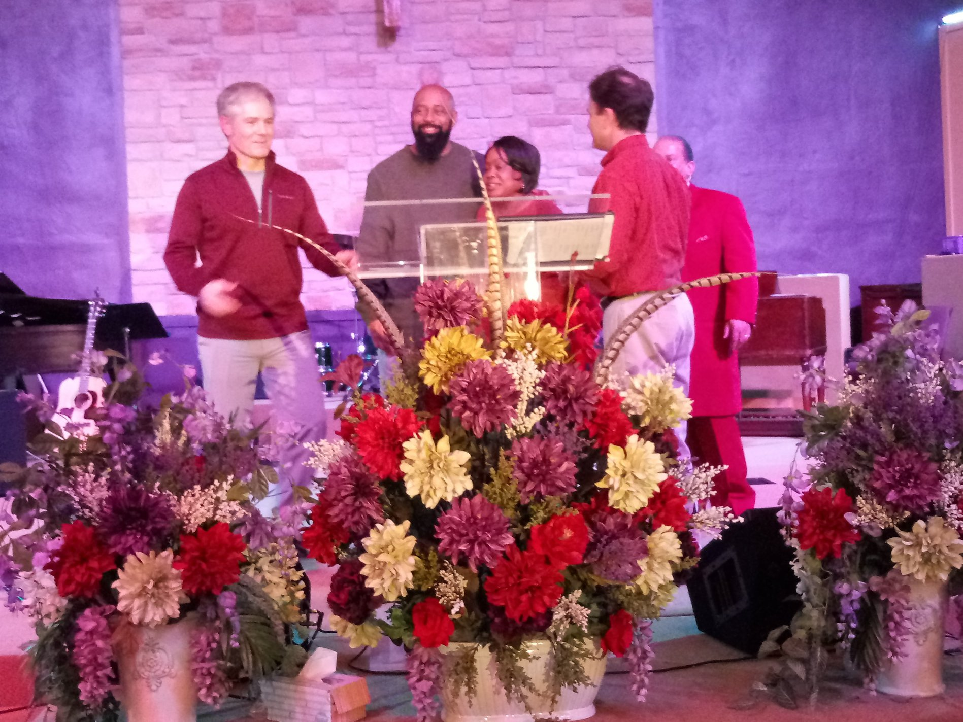 Christ Community College Hill  Director Ralph William's and Wife Lisa receive C.H. Ministerium Award for Service