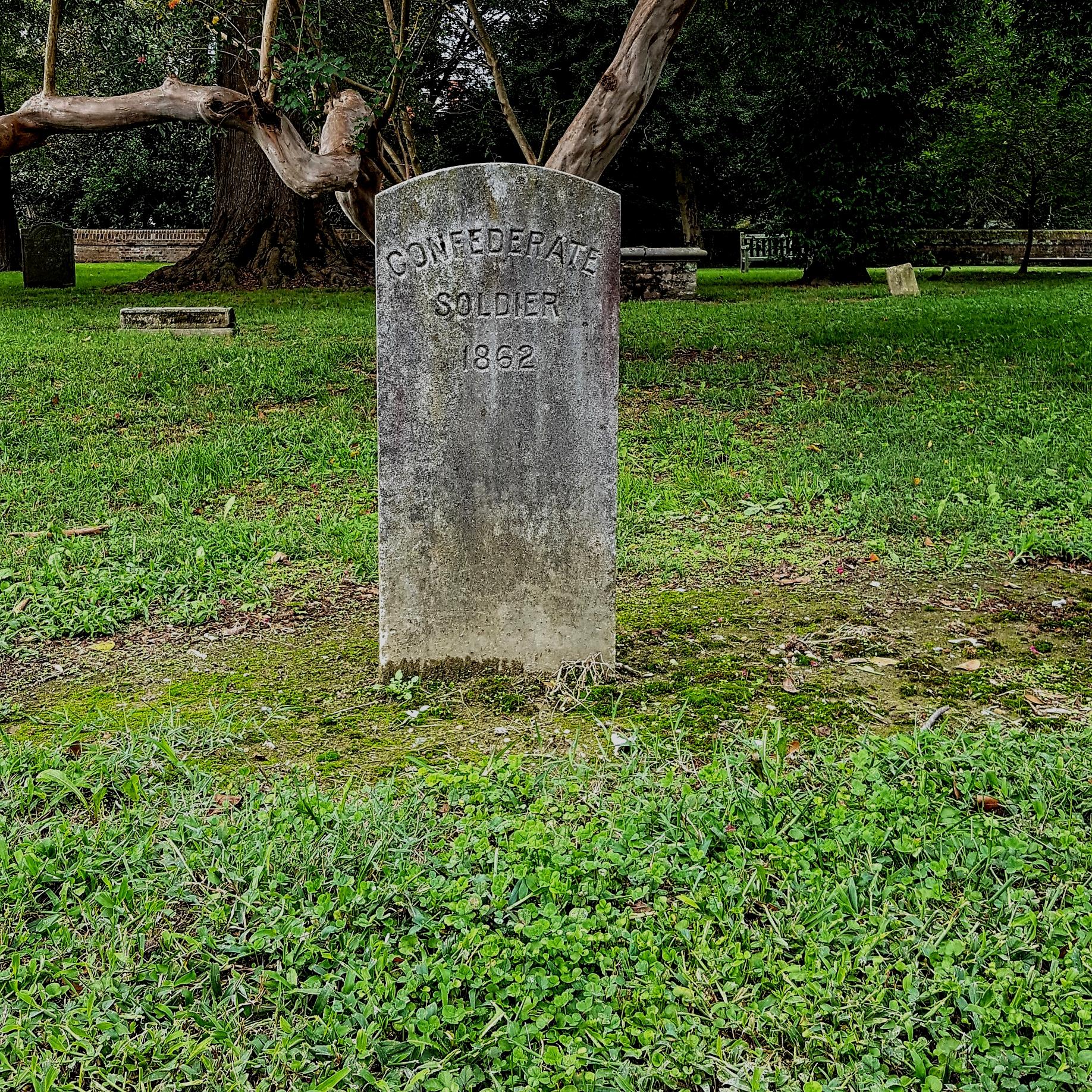 Confederate Soldier - Church Graveyard