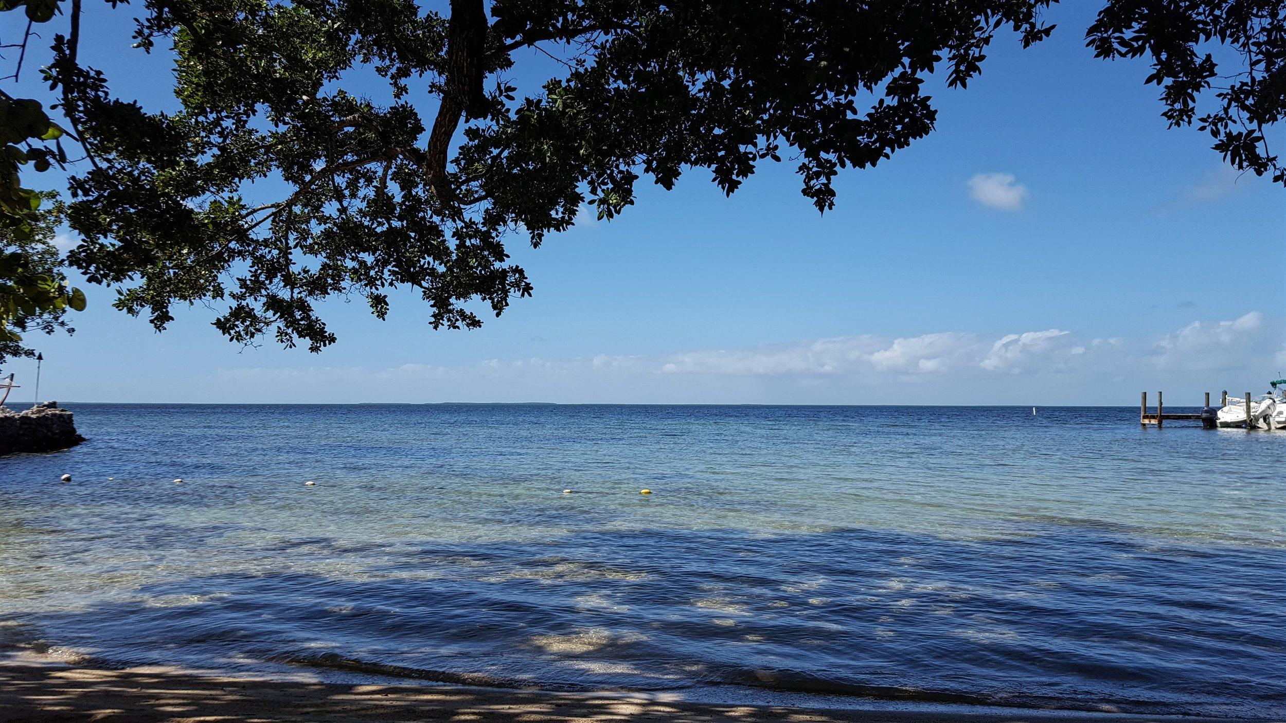Beach at Marker 88