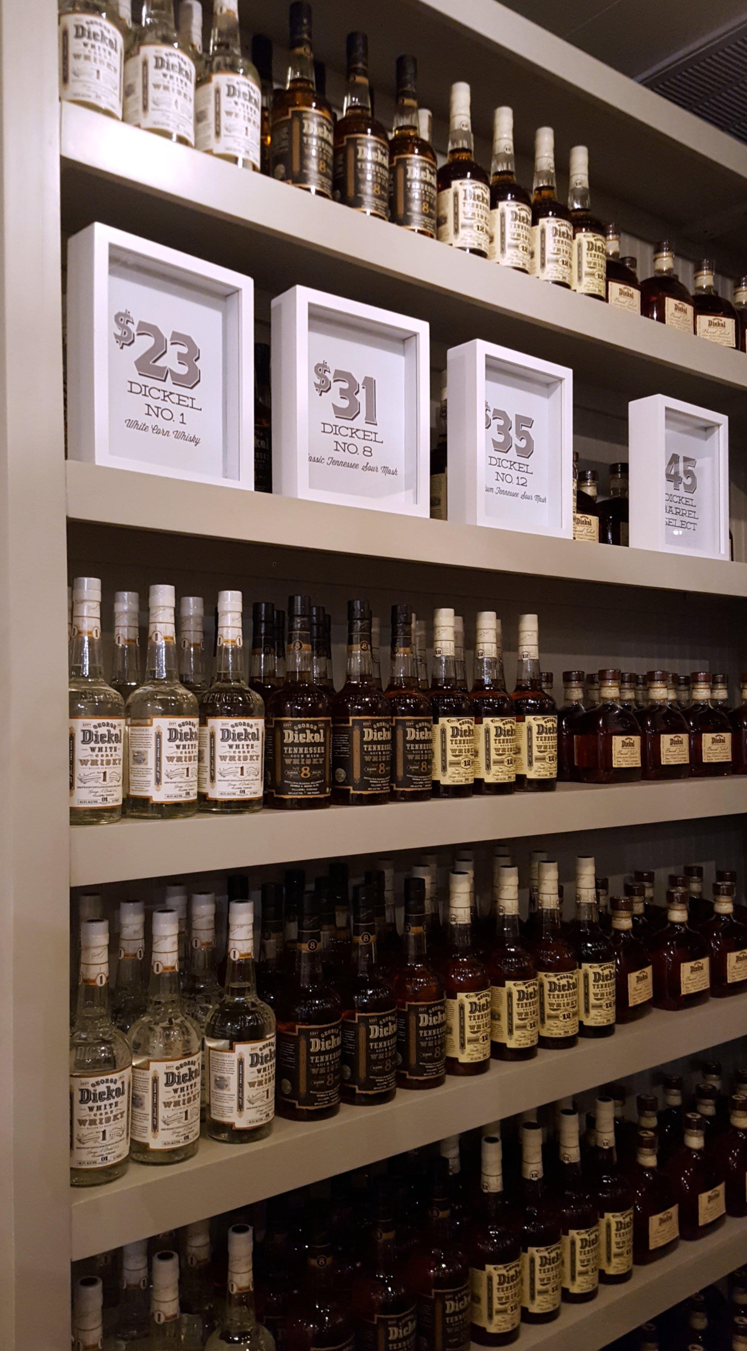 Whisky Sale Room