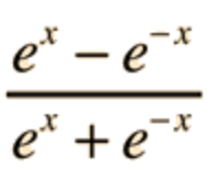 Our neuron output will be equal to the result of this function.
