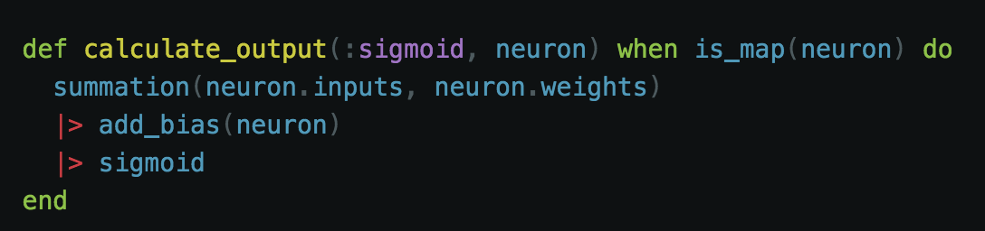 - Our Sigmoid Function Implementation