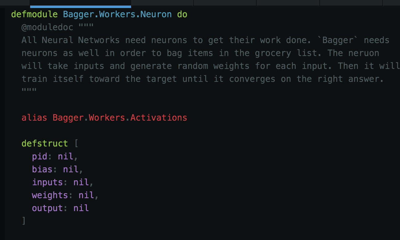 - Neuron Structure