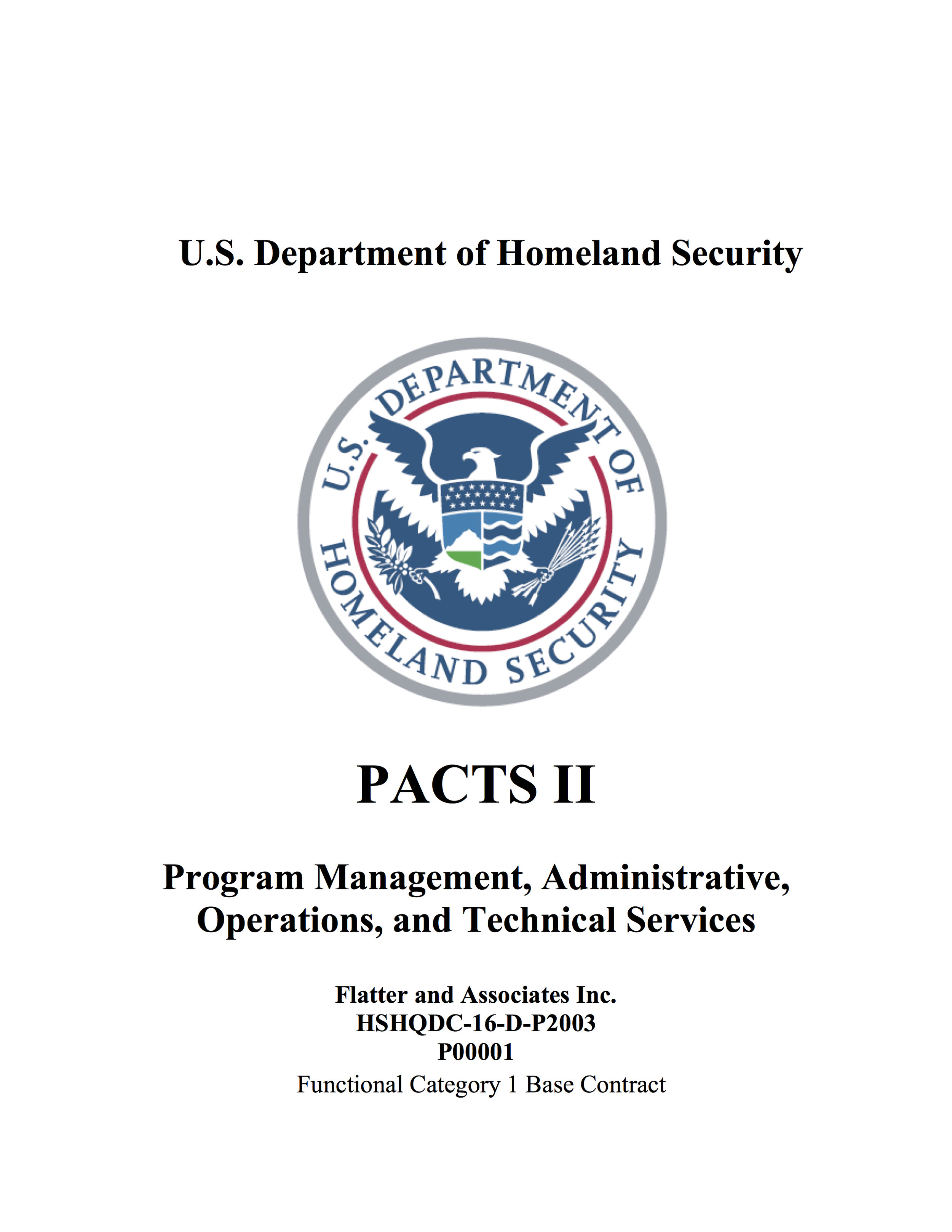 PACTS II Contract (PDF)