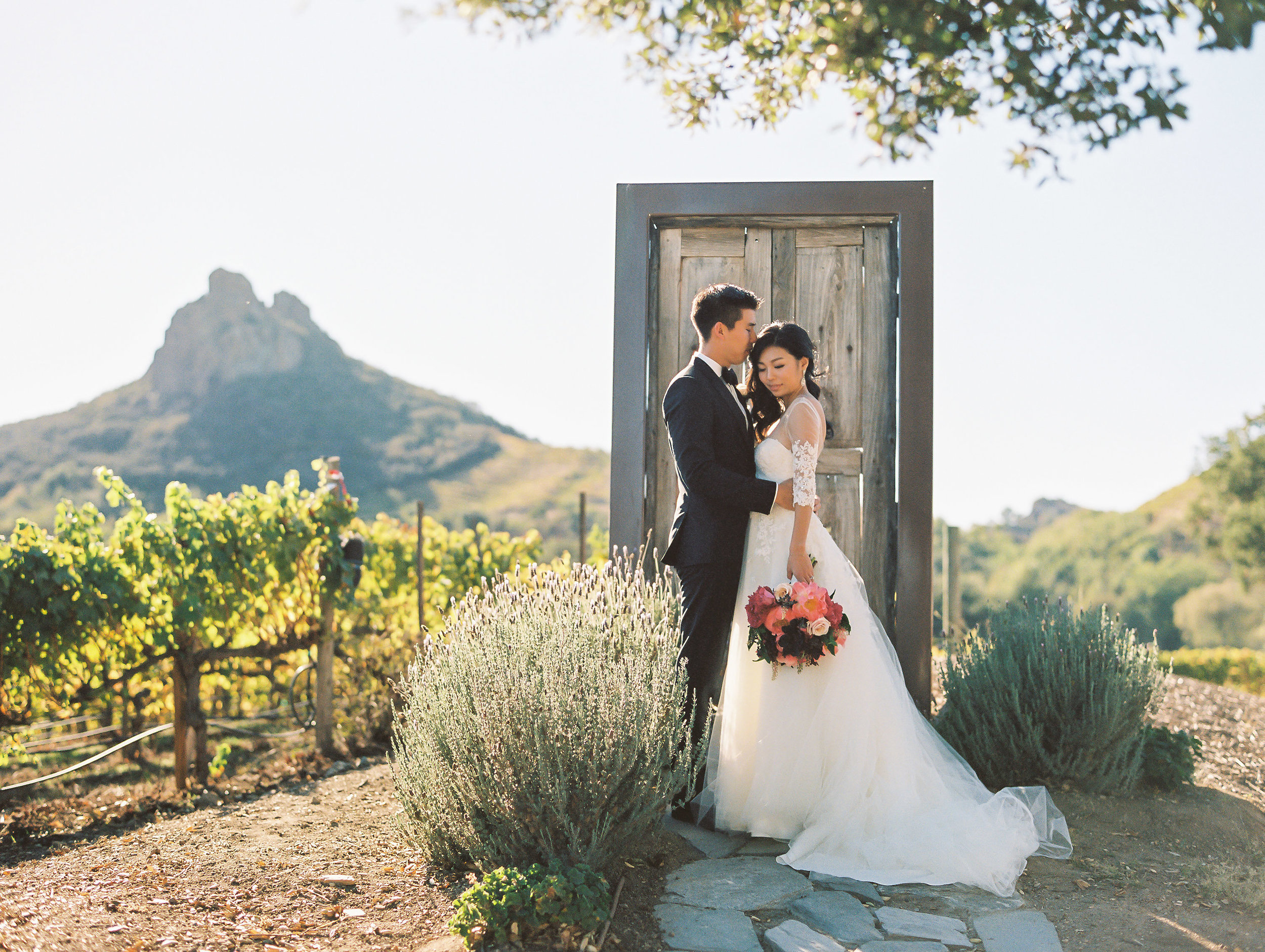 Saddlerock Ranch Malibu Wedding Door to Everywhere